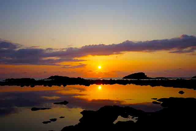 日本一の夕陽!